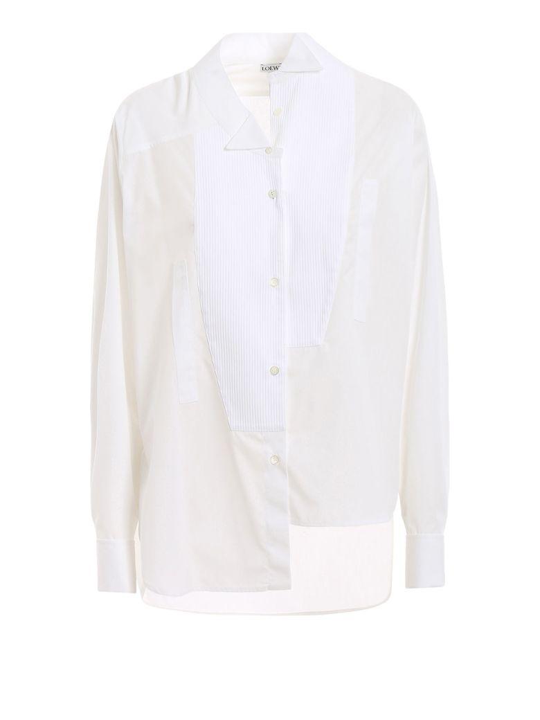 Loewe Uneven Shirt - White