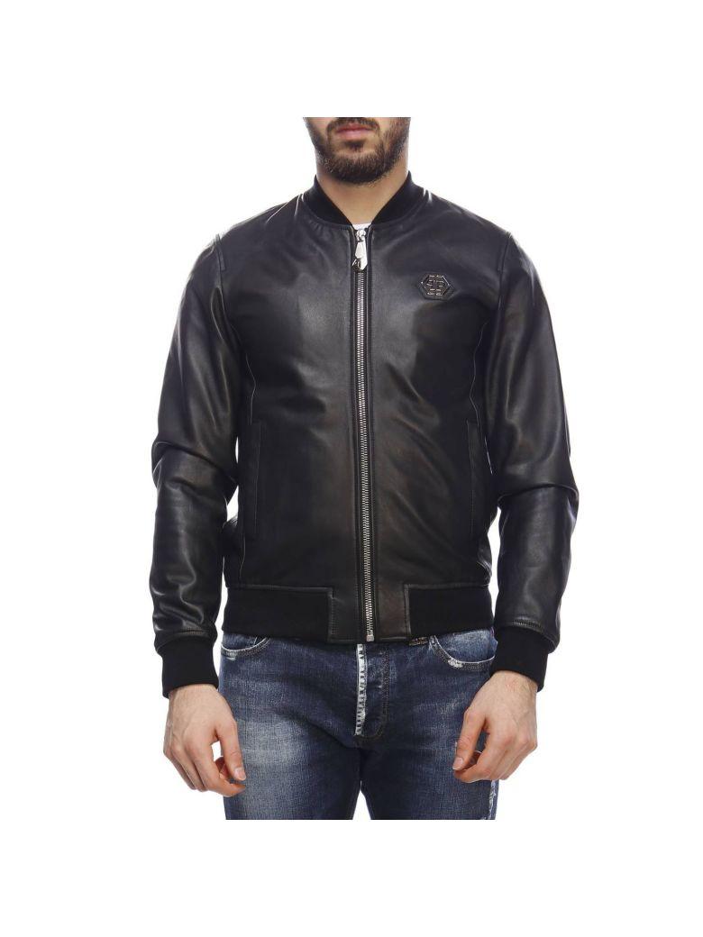 Philipp Plein Jacket Jacket Men Philipp Plein - black