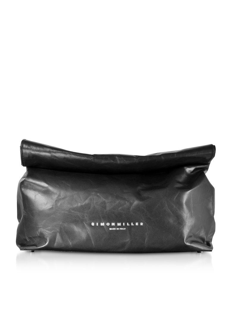 Simon Miller Xl Leather 30cm Lunch Bag - Black