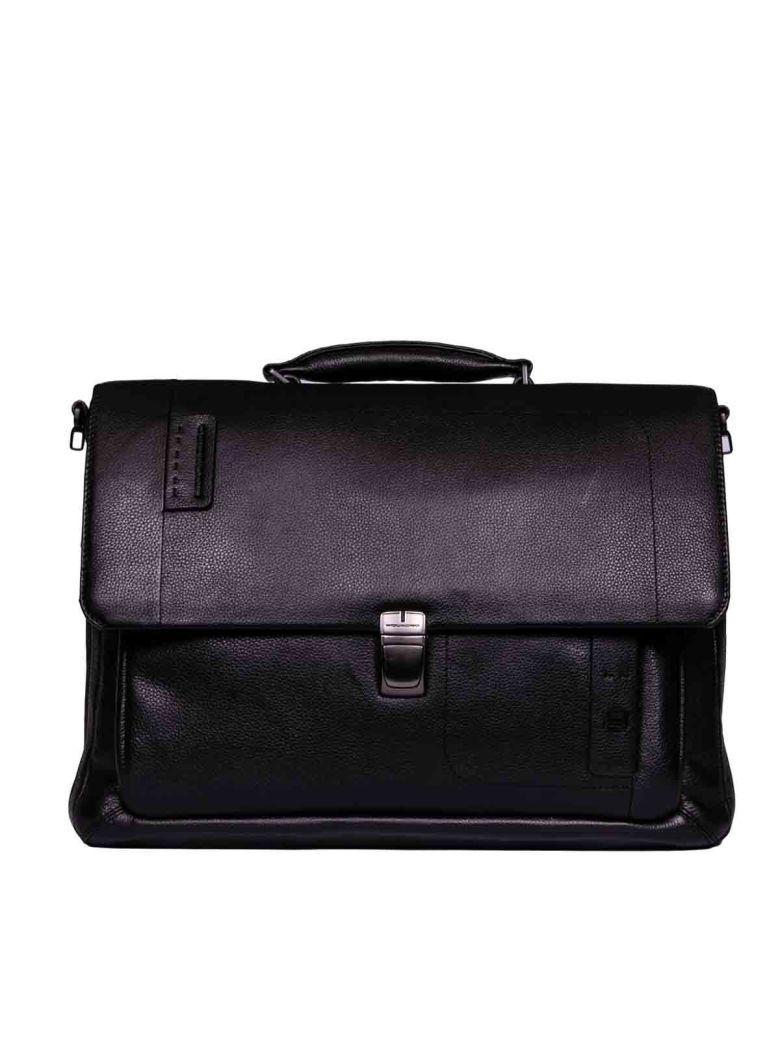 Piquadro Expandable Briefcase Flap
