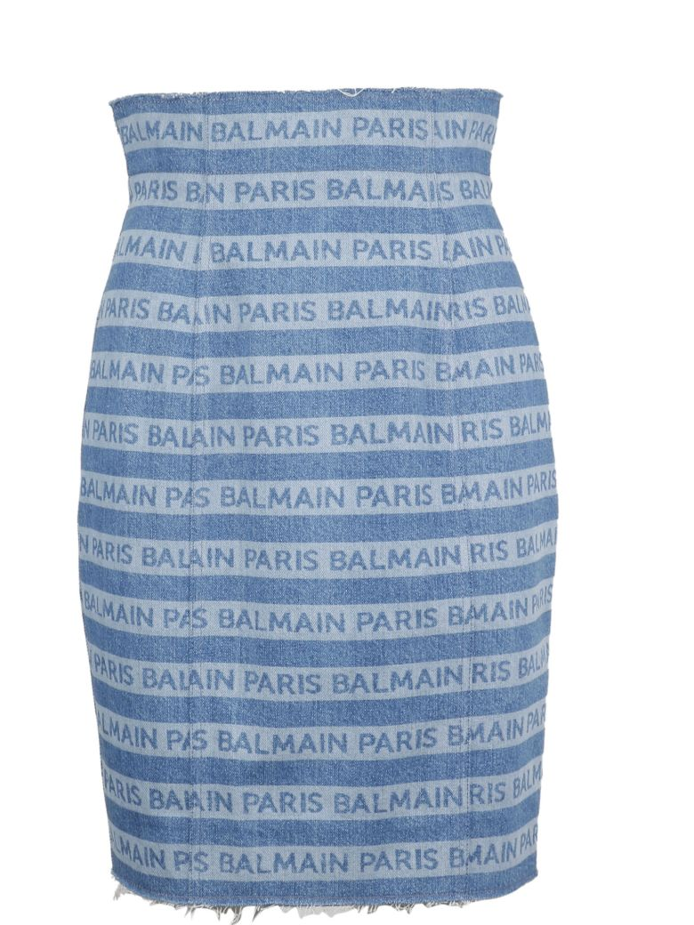 Balmain Logo High-waisted Skirt - Basic