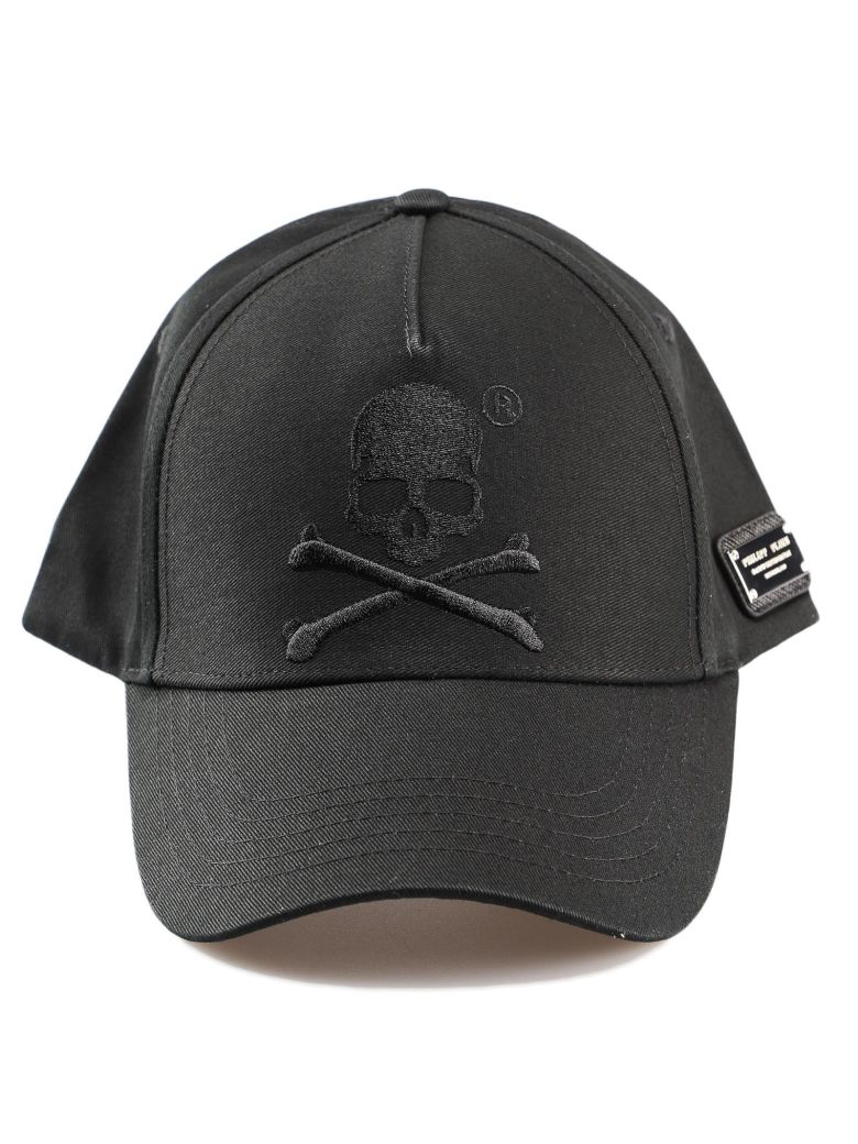 Philipp Plein Skull Cap - Black