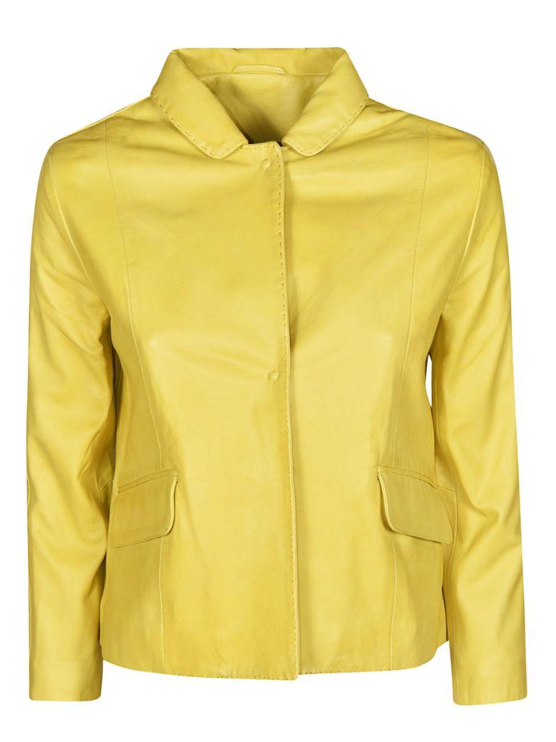 S.W.O.R.D 6.6.44 S.w.o.r.d 6.6.44 Concealed Buttoned Jacket - Lemon