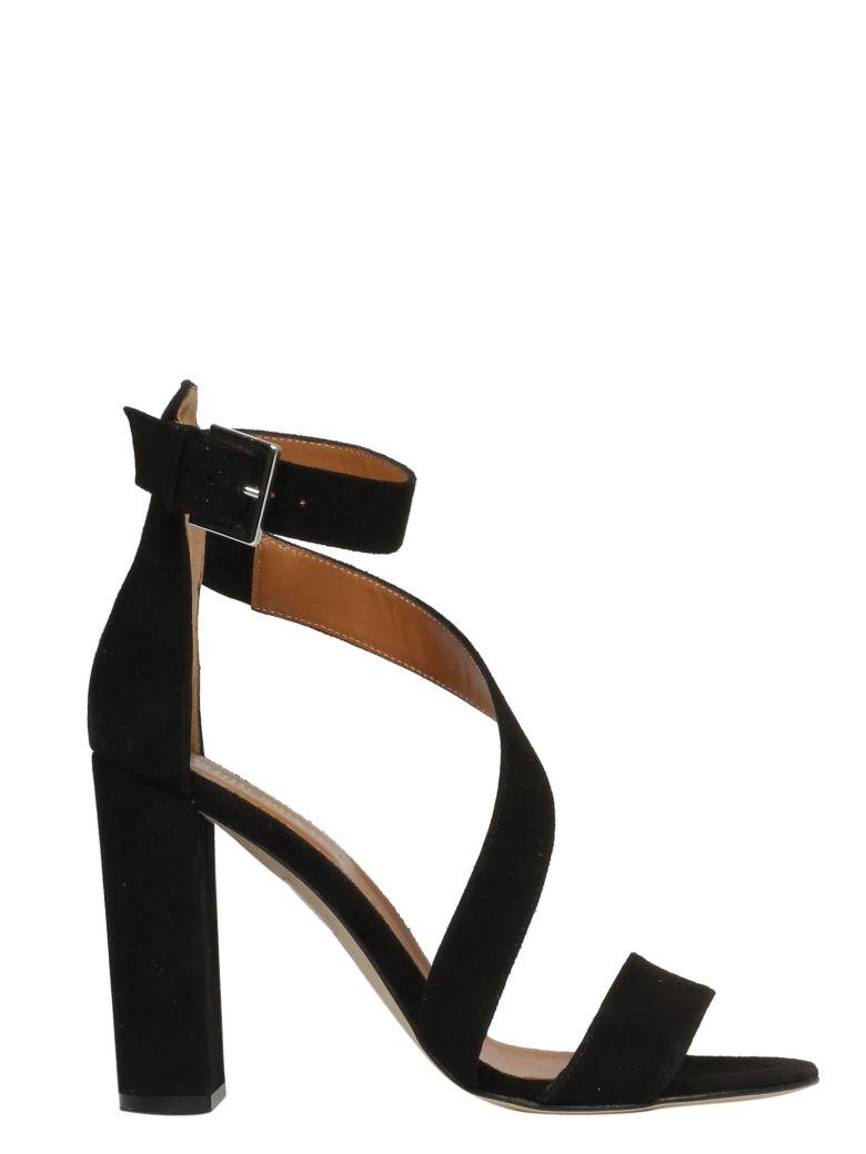 Paris Texas Strappy Sandals - Black