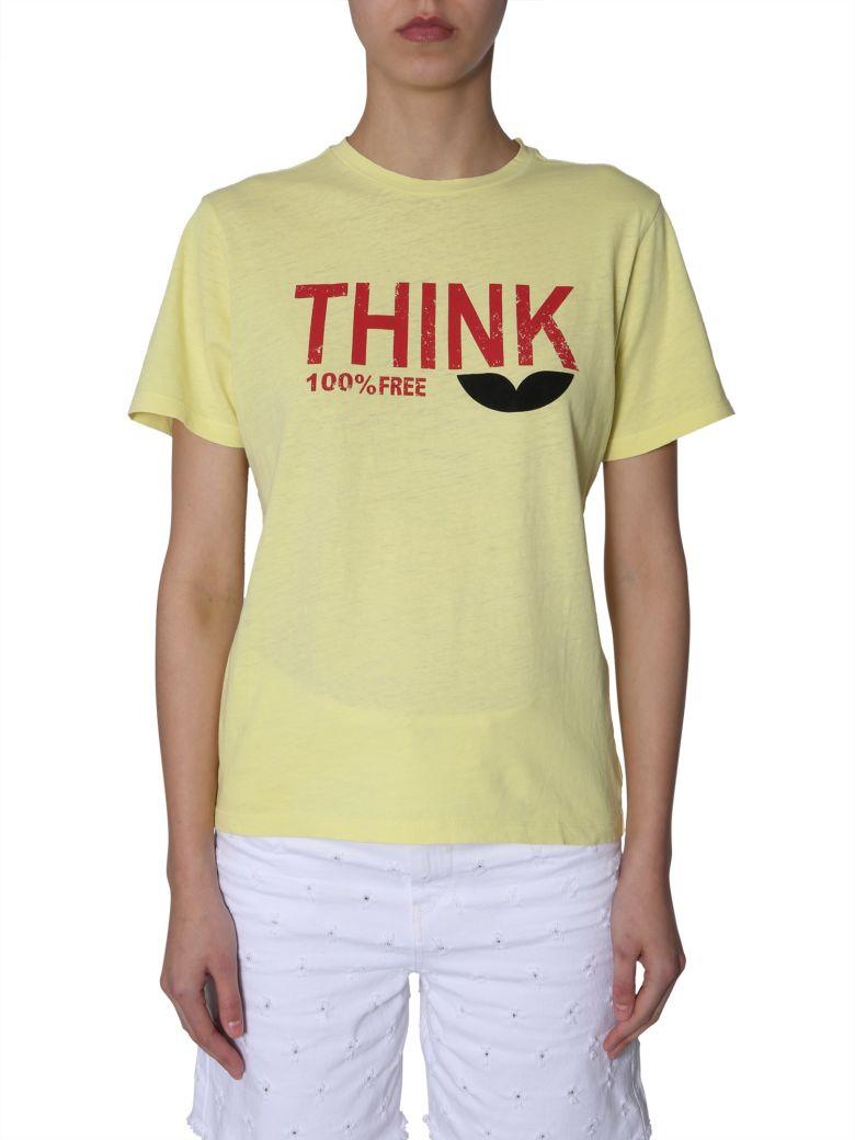 Isabel Marant Étoile Zewel T-shirt - GIALLO