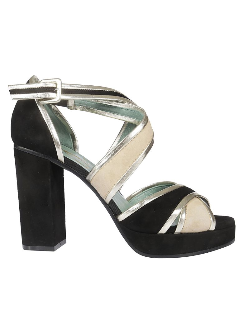 Paola D'Arcano Criss-cross Strap Sandals - Basic