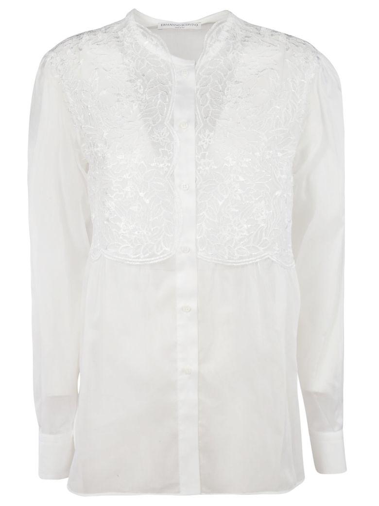 Ermanno Scervino Lace Shirt - White