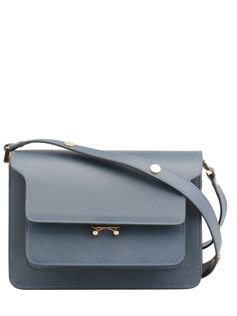 Marni Noos Trunk Bag - Blue