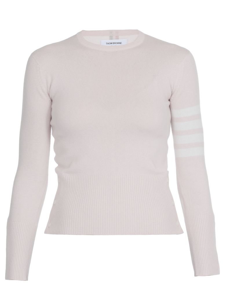 Thom Browne Cashmere Sweater - LT PINK