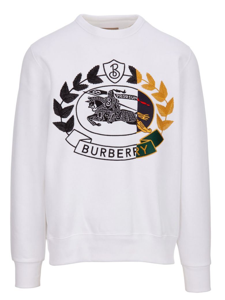 Burberry Sweatshirt - White