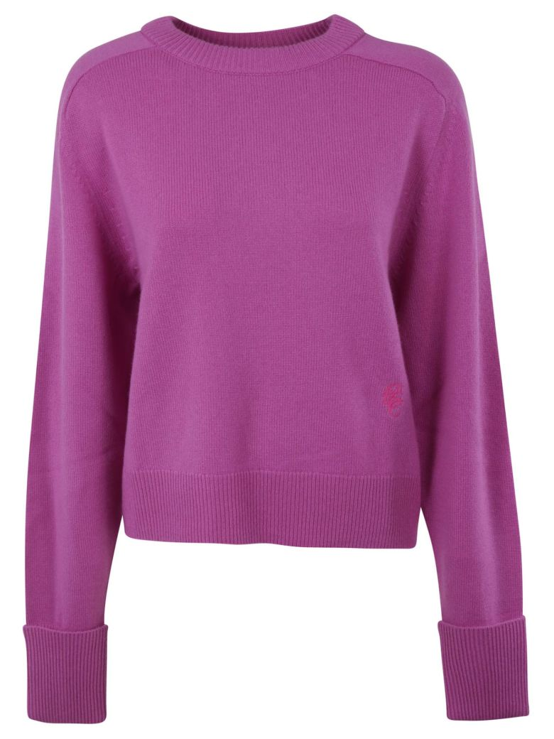 Chloé Knitted Pullover - MEADOW MAUVE