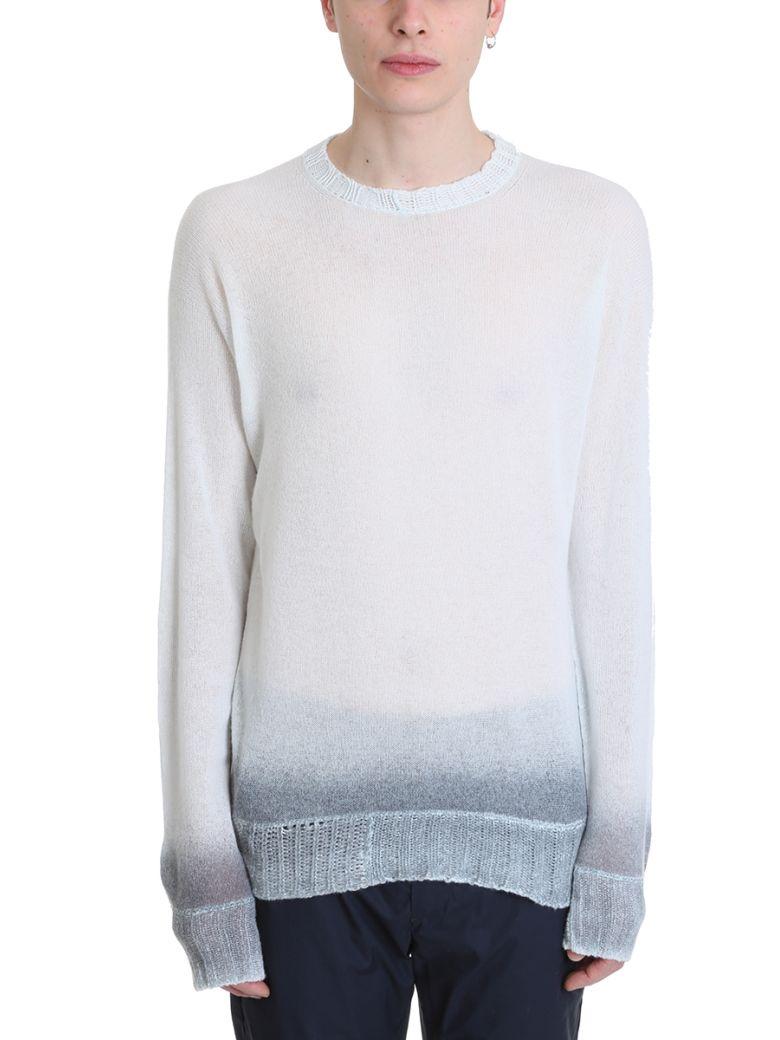 Maison Flaneur Light Blue Cashmere Sweater - cyan