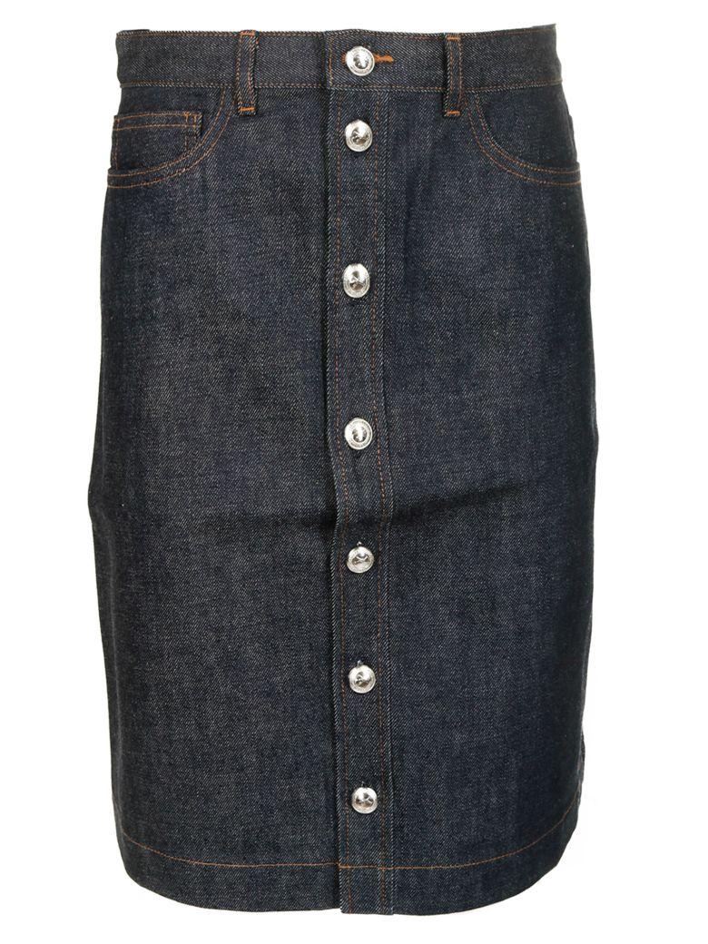 A.P.C. Buttoned Skirt