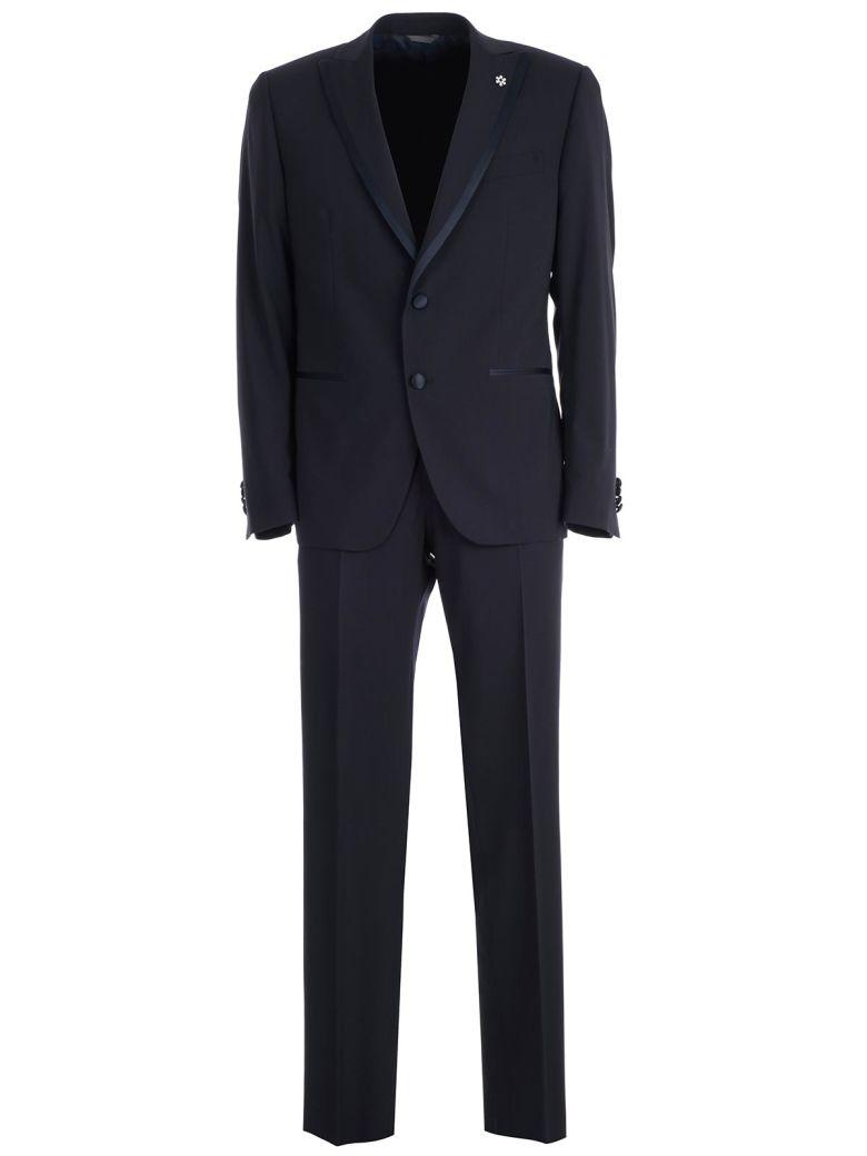 Emanuel Ungaro Ungaro Single Breasted Suit - Blu