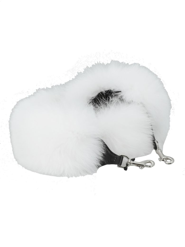Kate Cate Foxy Lady Shoulder Strap - WHITE