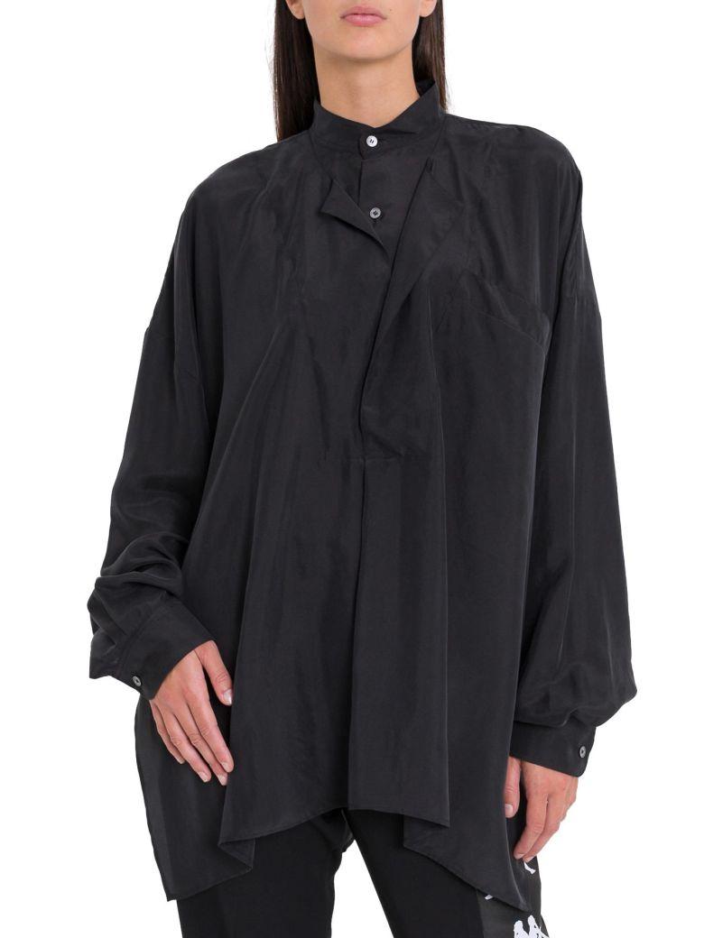 Faith Connexion Overszide Double-neck Shirt - Nero
