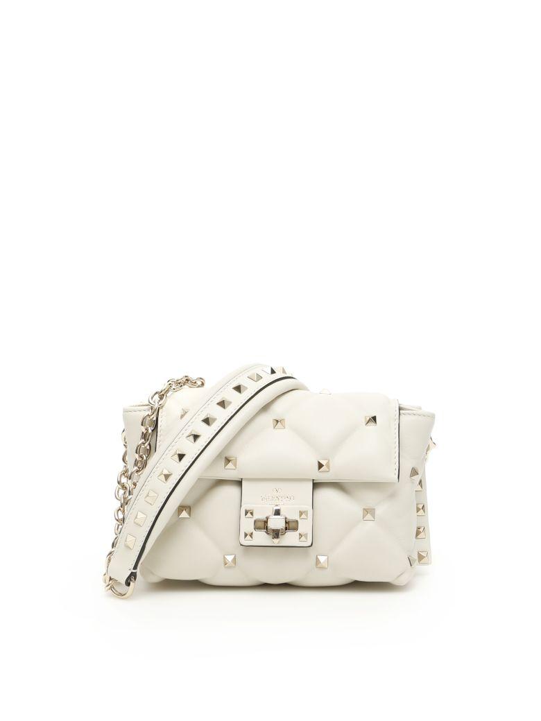 Valentino Candystud Bag - LIGHT IVORY (White)