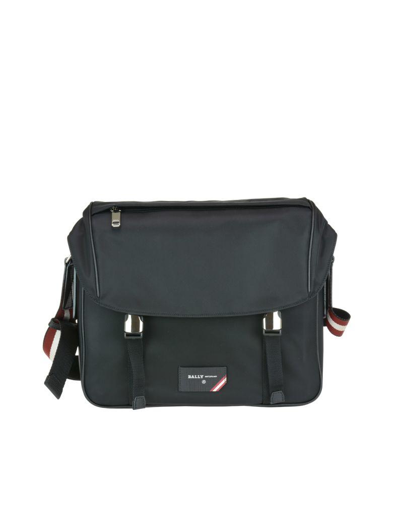 Bally Fabro Messenger Bag - Black