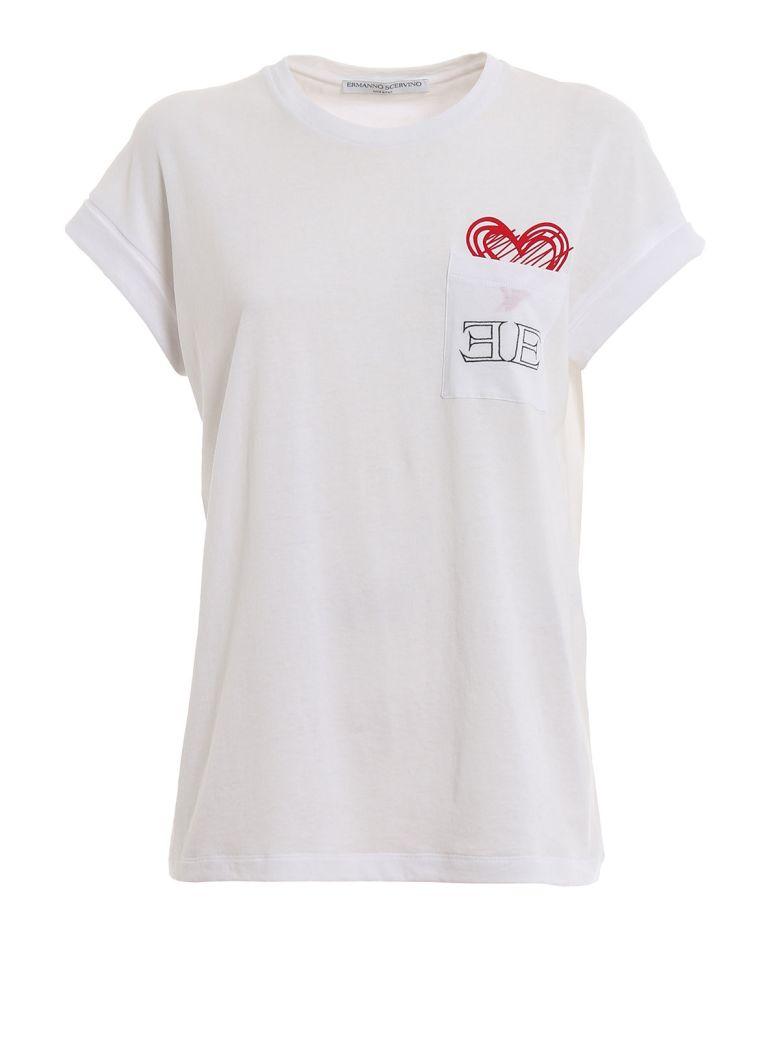 Ermanno Scervino Chest Pocket T-shirt - White