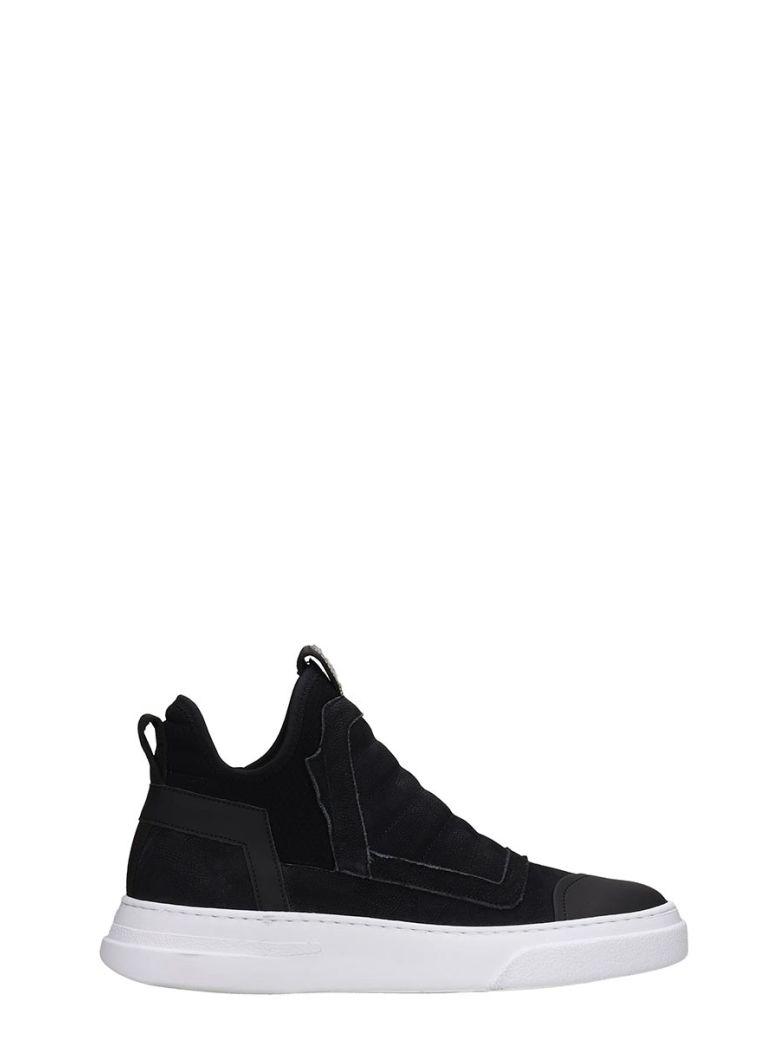 Bruno Bordese Sneakers In Black Nubuck - black