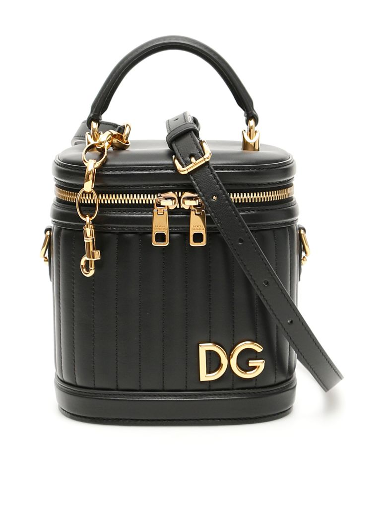 Dolce & Gabbana Matelassé Dg Girls Bag - NERO (Black)