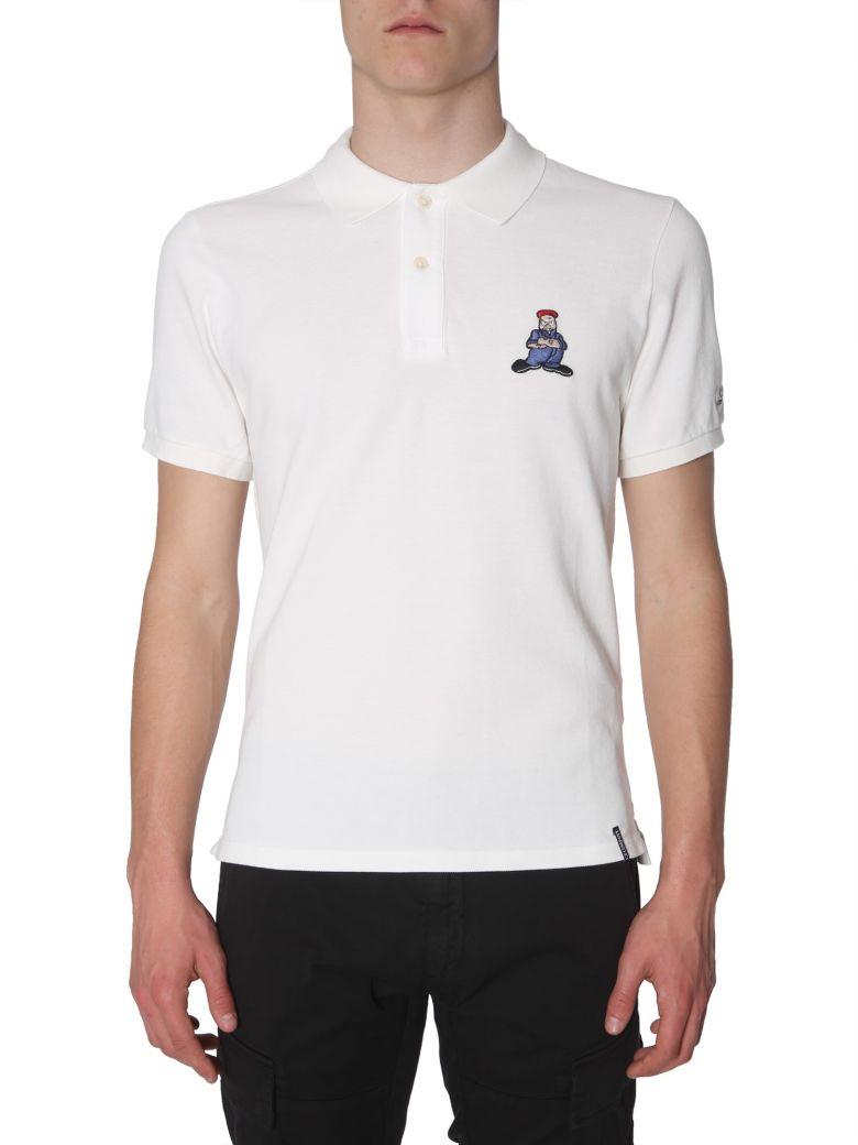 C.P. Company Cotton-pique Polo Shirt - BIANCO