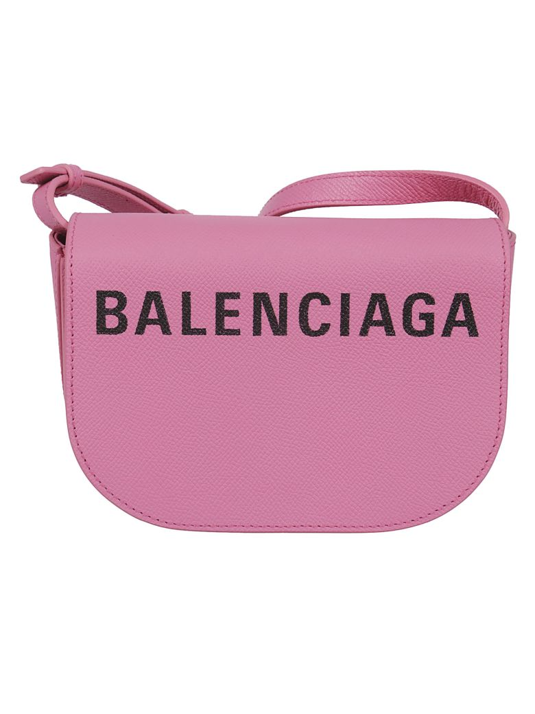 Balenciaga Extra Small Day Shoulder Bag - Rose Noir