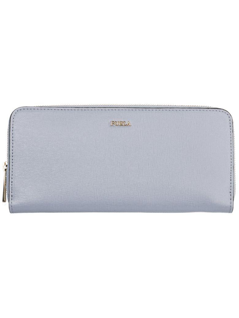 Furla  Wallet Genuine Leather Coin Case Holder Purse Card Bifold Babylon - Basic