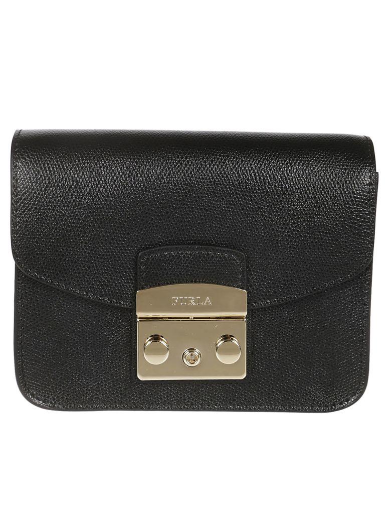 Furla Mini Metropolis Shoulder Bag - Onyx