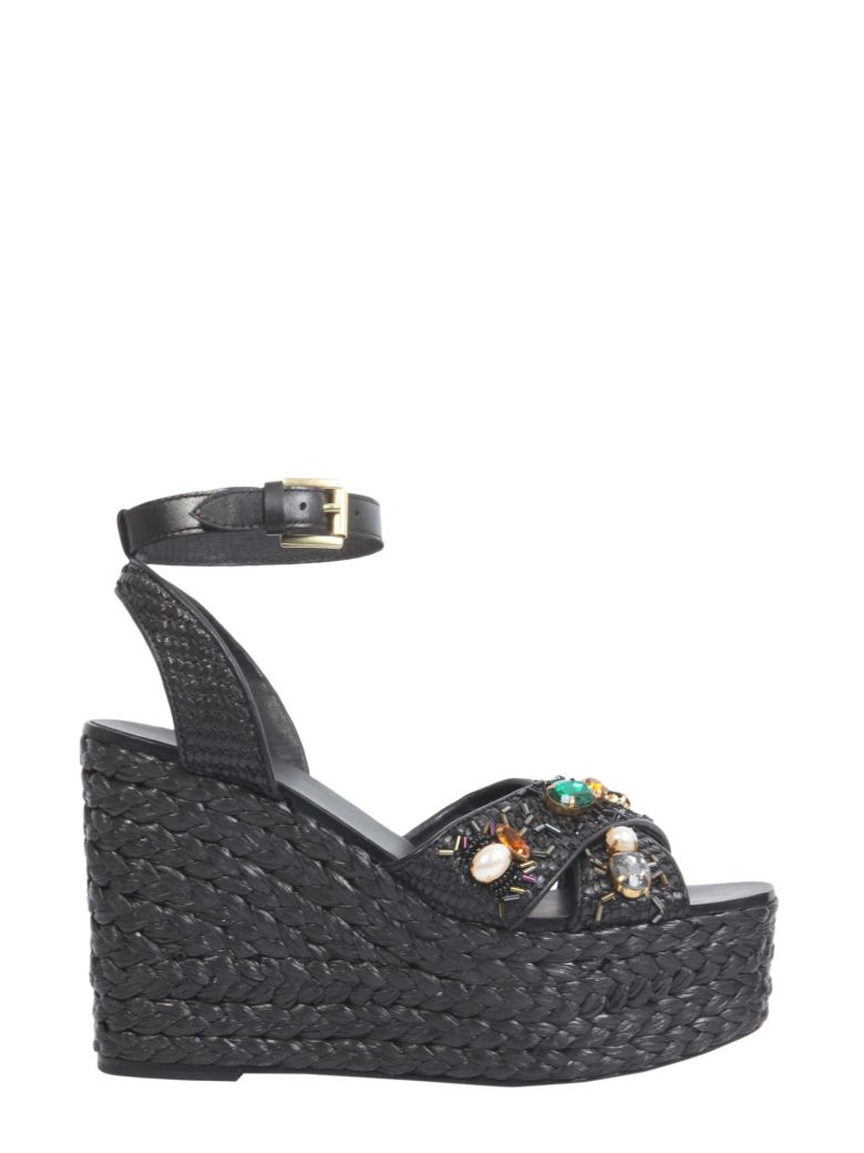Ash Tulum Wedge - NERO