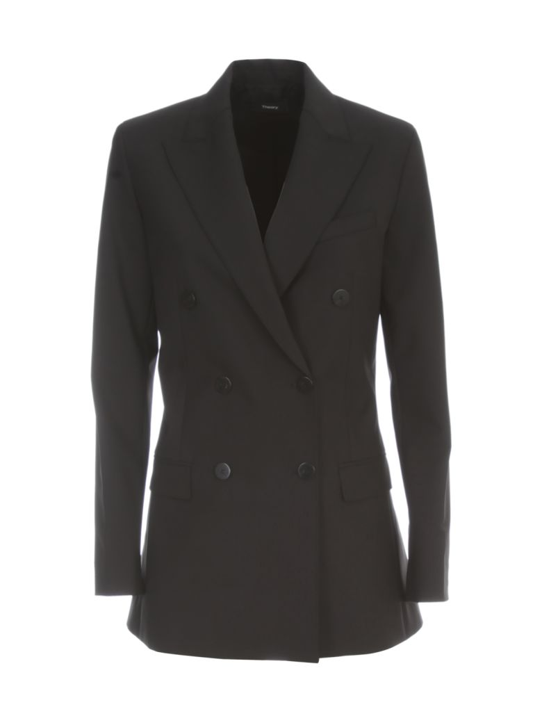 Theory Tracea Tailor Jacket - Black