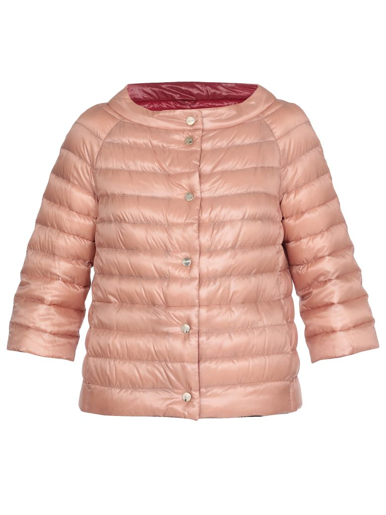 Herno Quilted Down Jacket - Pink
