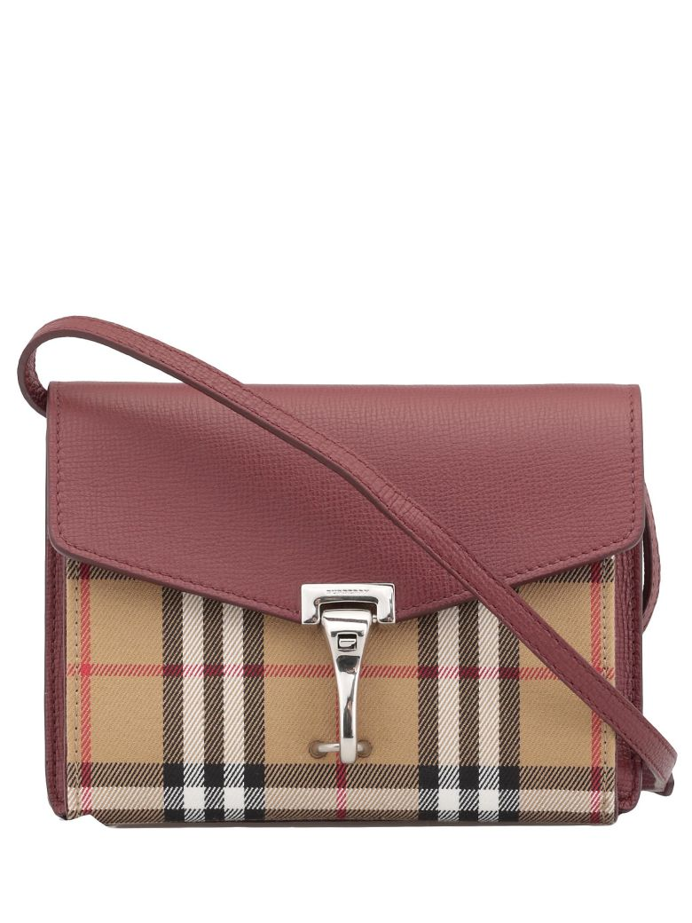 Burberry Baby Macken Bag - CRIMSON