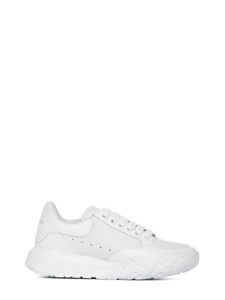 Alexander McQueen Trainer Court Sneakers - White