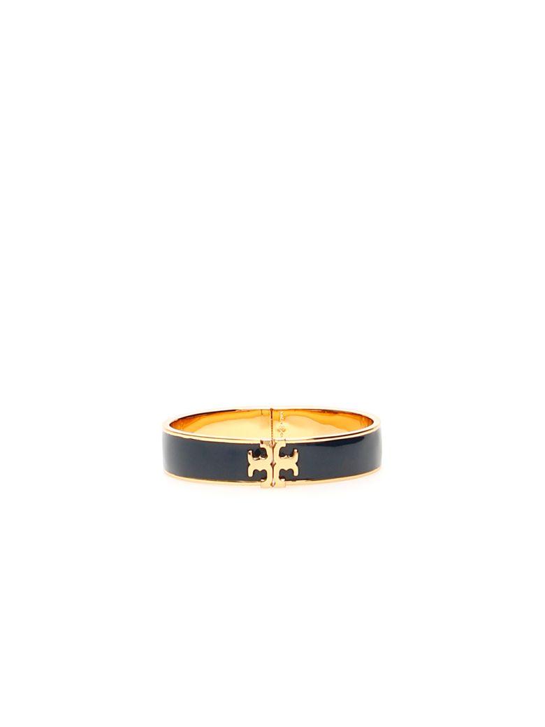 Tory Burch Logo Bracelet - TORY NAVY TORY GOLD (Gold)