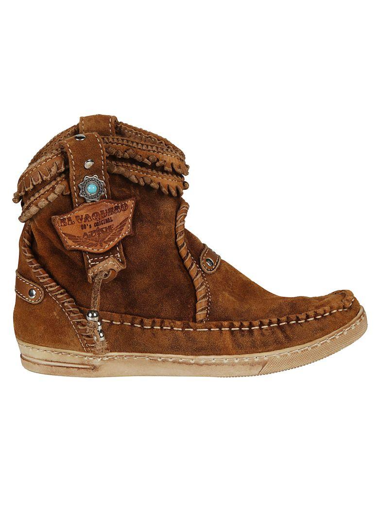 El Vaquero Logo Ankle Boots - Mou
