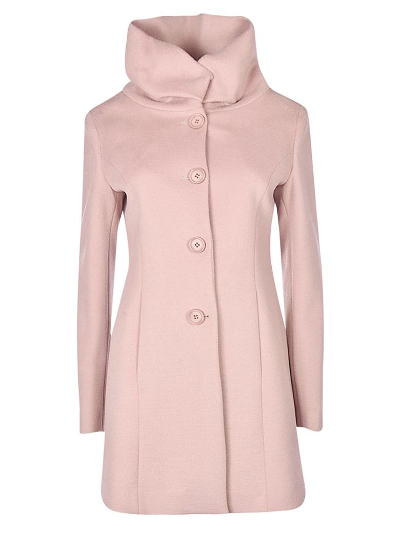 Hanita Buttoned Coat - Pink