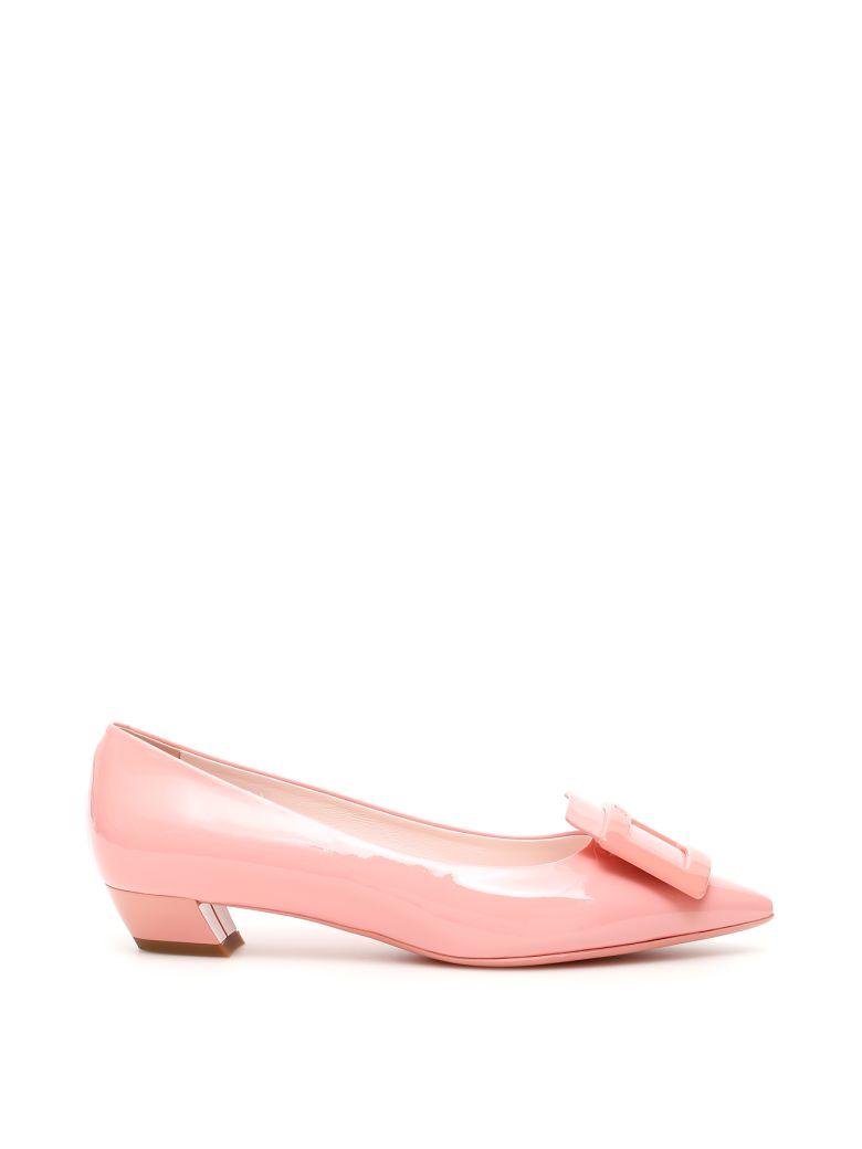 Roger Vivier Gommettine Ball 25 Ballerinas - ROSA BLOSSOM (Pink)
