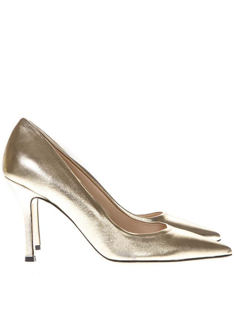 Marc Ellis Laminate Gold Leather Pumps - Gold