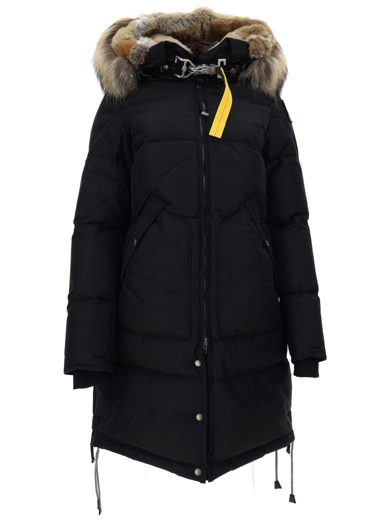 Parajumpers Long Bear Parka Coat - Black