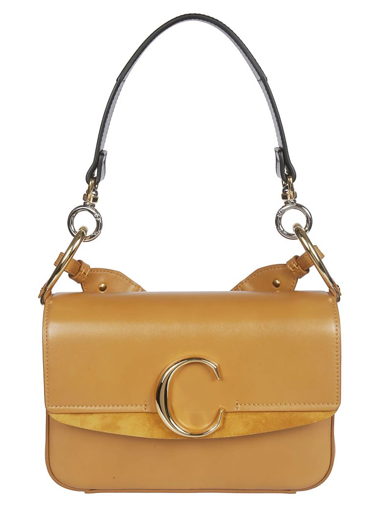 Chloé Small C Shoulder Bag - Basic