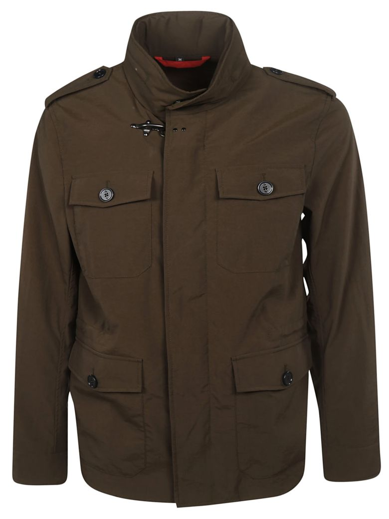 Fay Flap Pocket Field Jacket - Basic