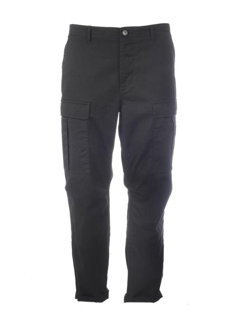 Balenciaga Side Flap-pocket Trousers - Black