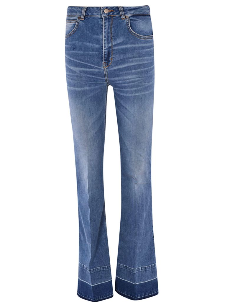 Brian Dales Flared Jeans - Blue