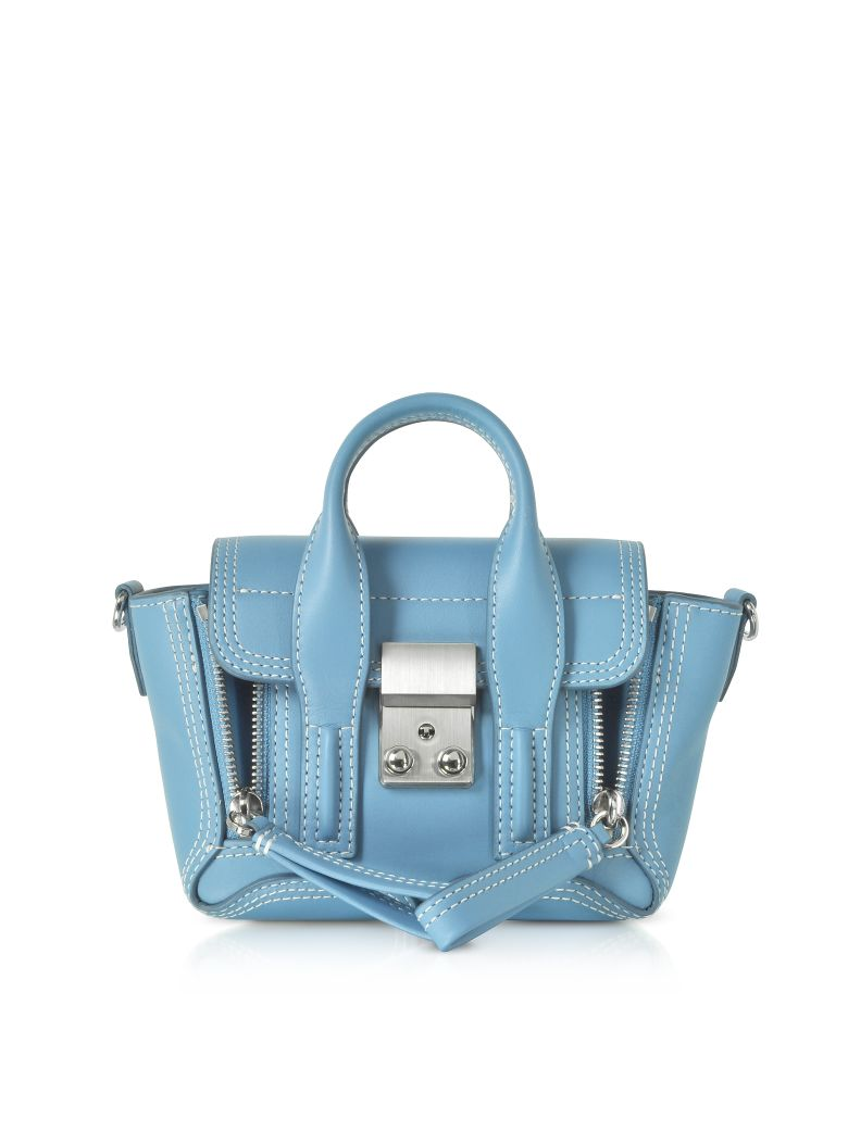 3.1 Phillip Lim Pashli Nano Satchel Bag - Powder Blue