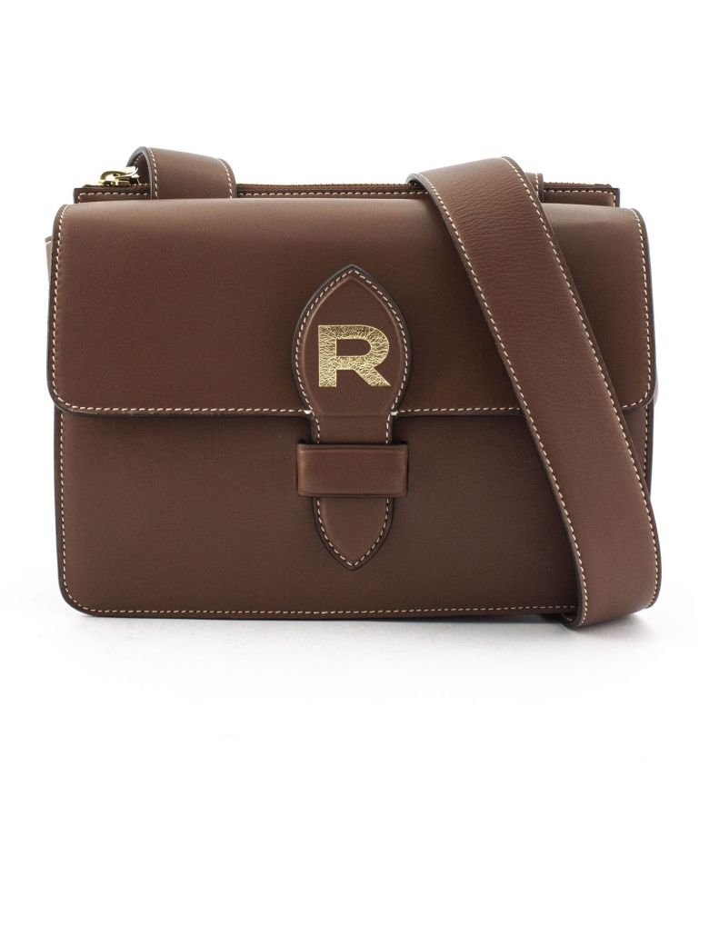Rochas Brown Leather Bag - Marrone