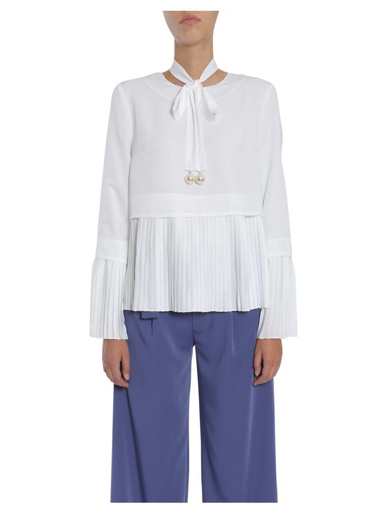 Jovonna Eleonor Shirt - BIANCO