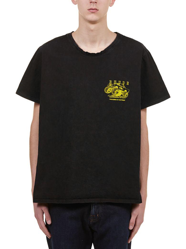 Rhude Short Sleeve T-Shirt - Nero giallo