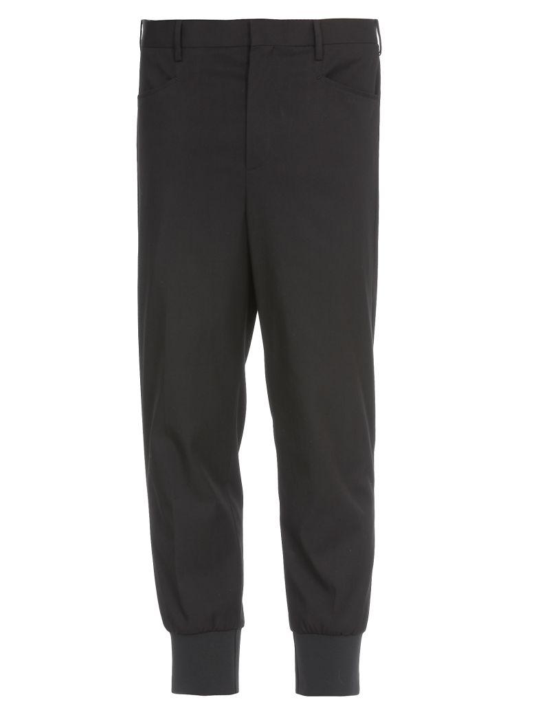 Neil Barrett Cotton Pants - BLACK