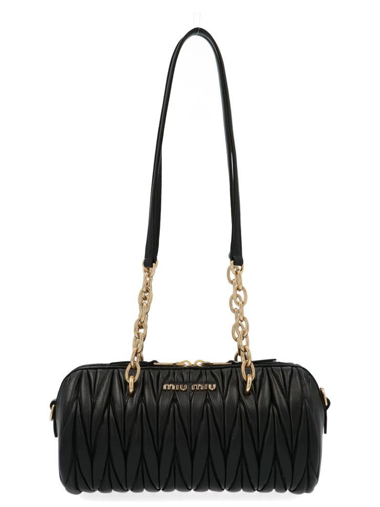 Miu Miu 'bauletto' Bag - Black